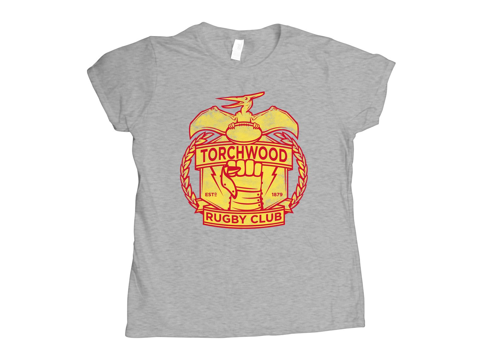 Torchwood Rugby Club on Womens T-Shirt