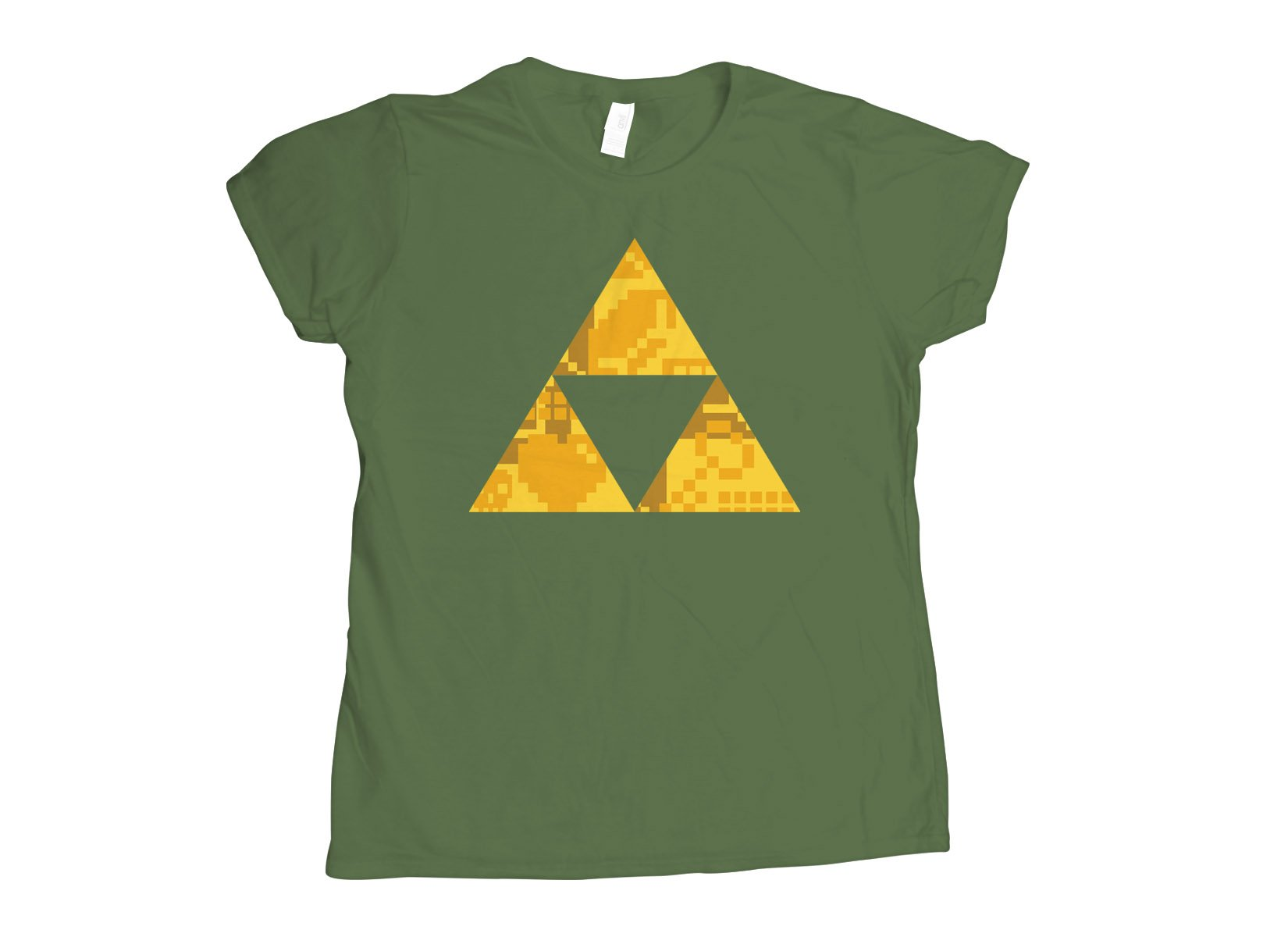 Triforce on Womens T-Shirt