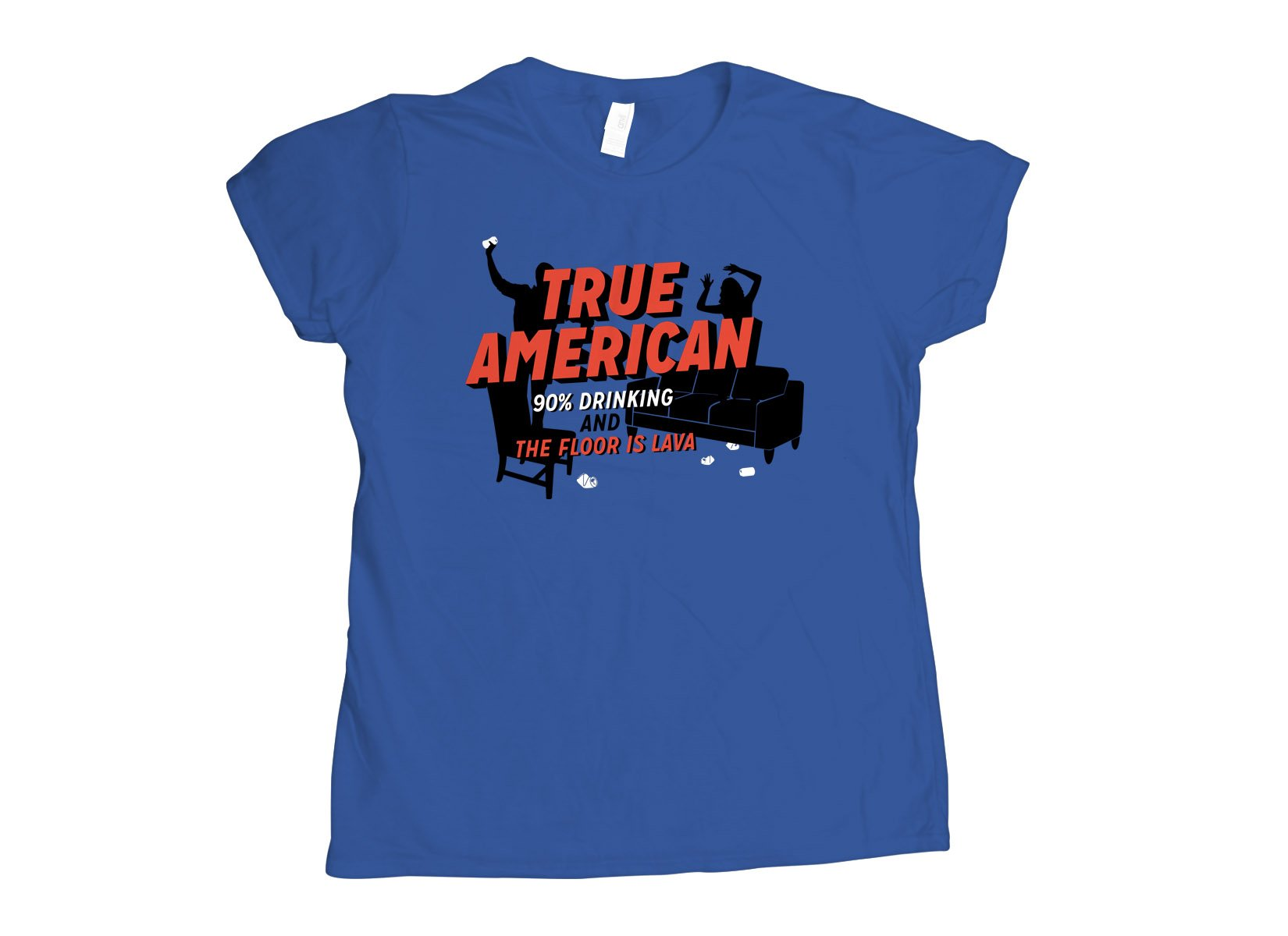 True American on Womens T-Shirt