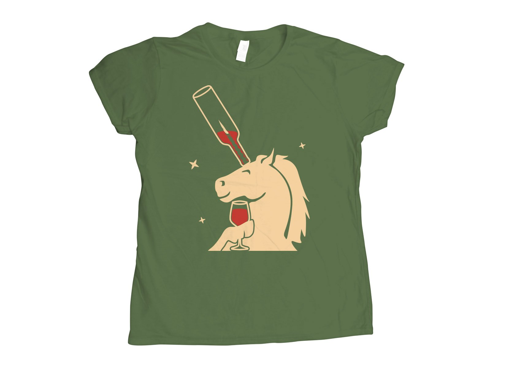 Unicork on Womens T-Shirt