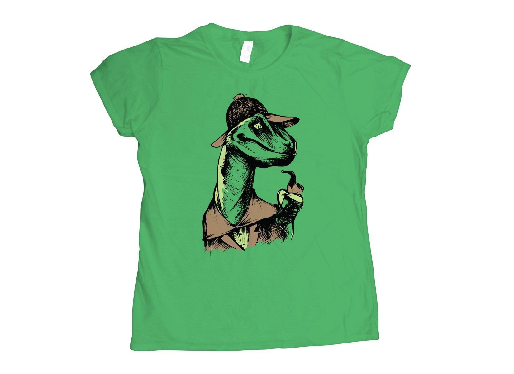 Velociholmes on Womens T-Shirt