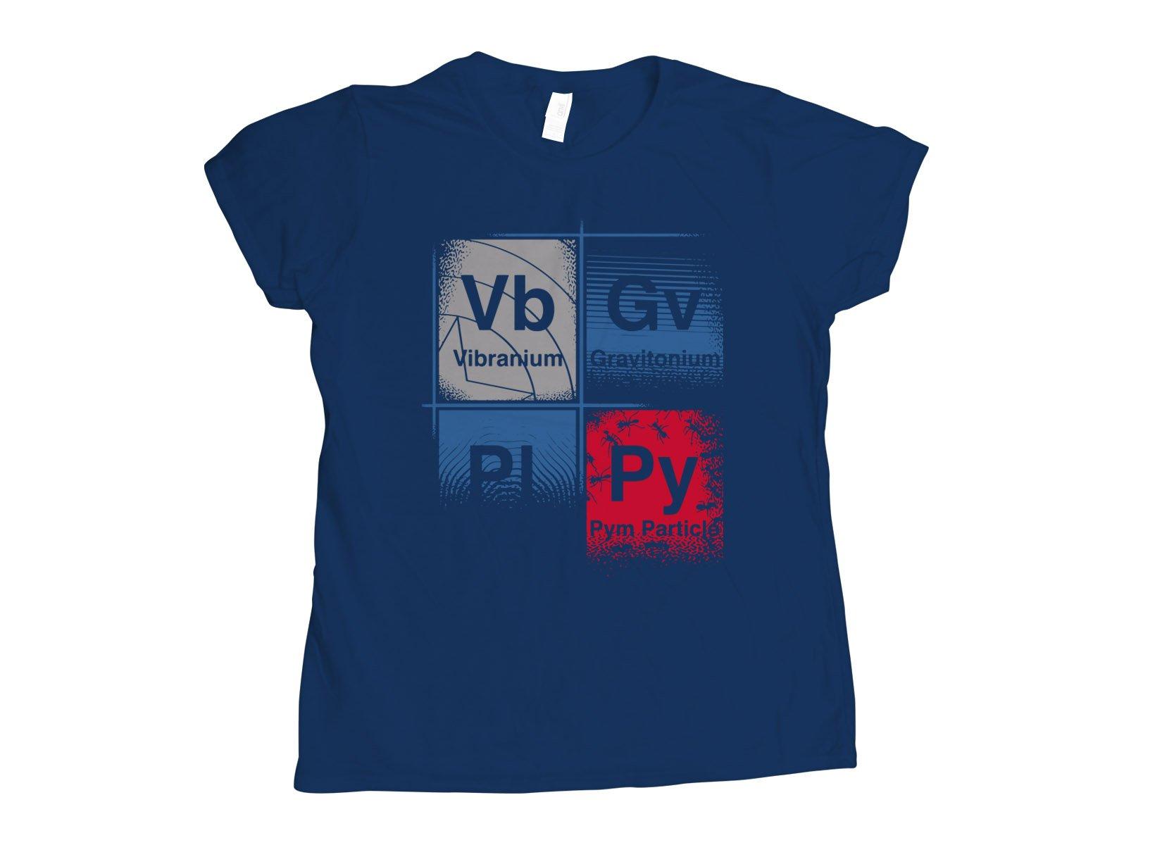 Vibranium on Womens T-Shirt