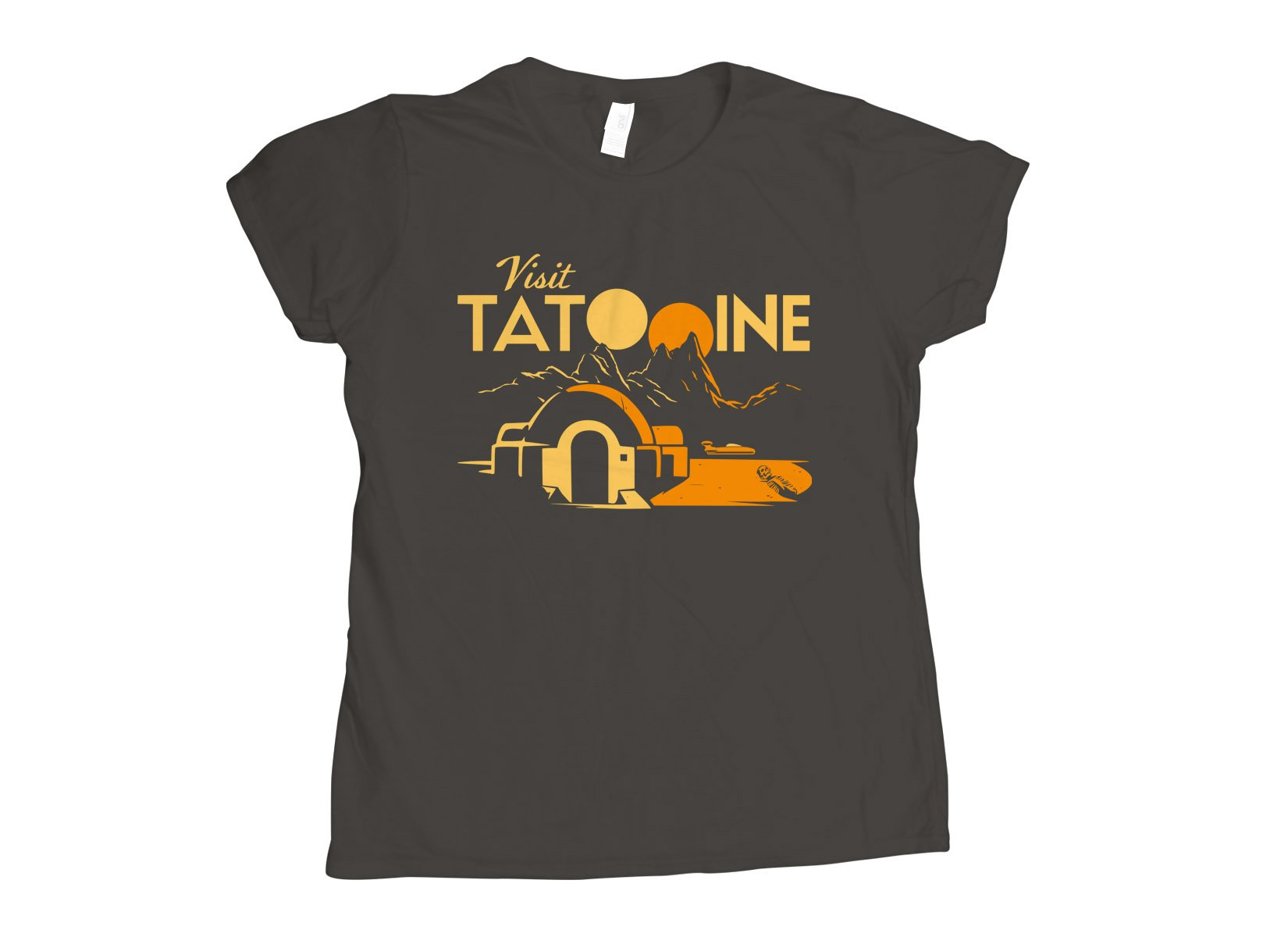Visit Tatooine on Womens T-Shirt