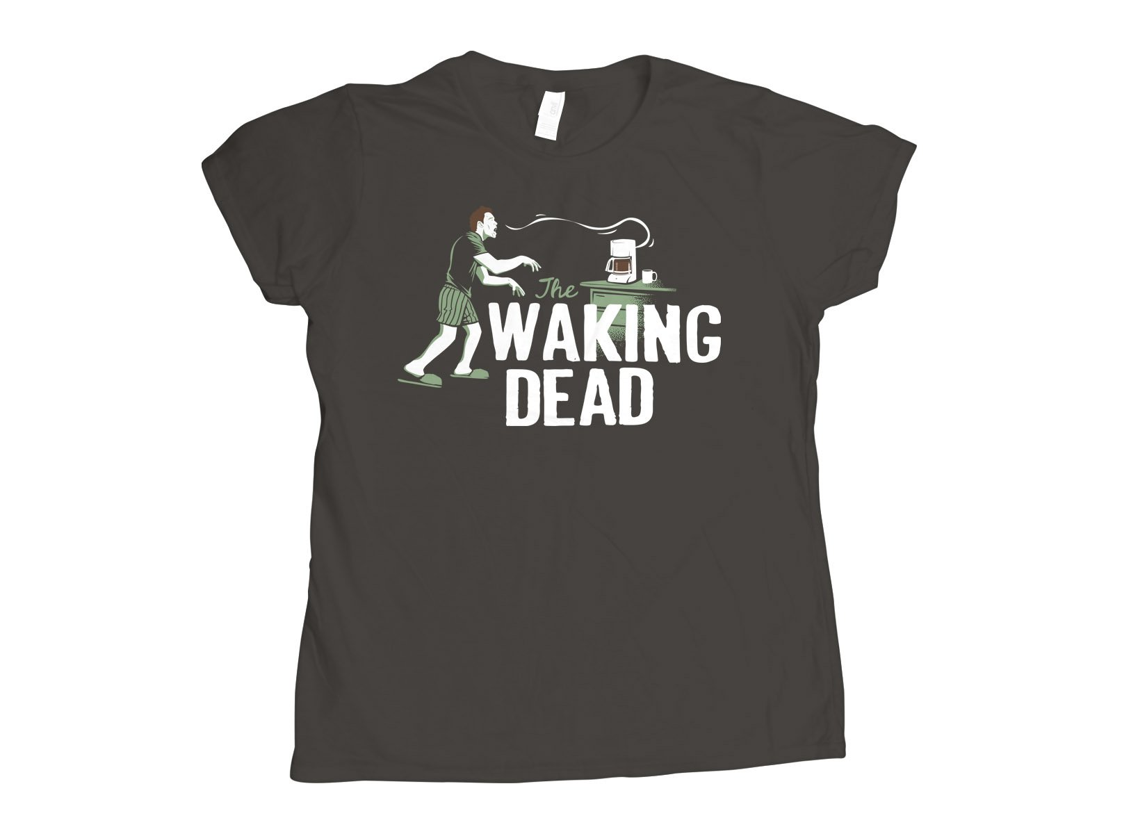 The Waking Dead on Womens T-Shirt