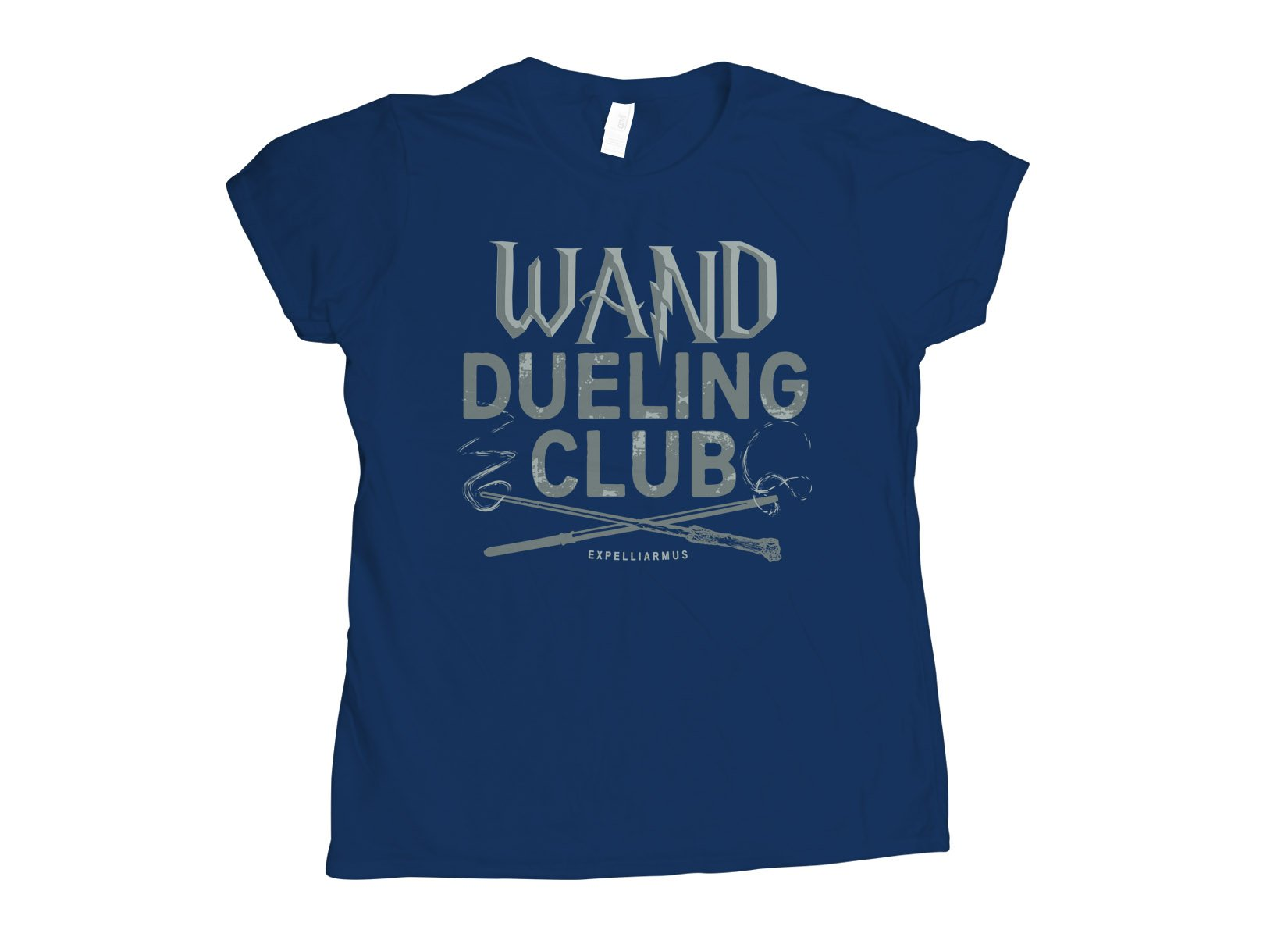Wand Dueling Club on Womens T-Shirt