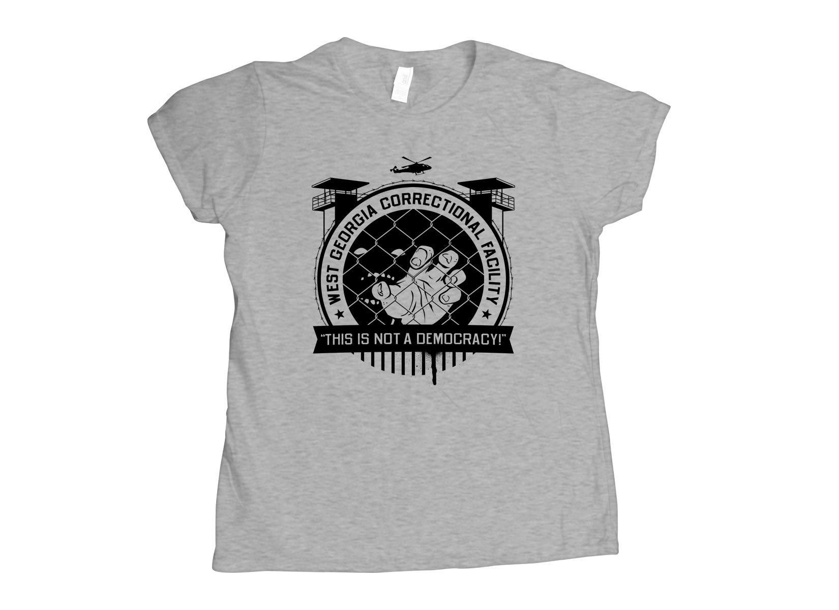 West Georgia Correctional Facility on Womens T-Shirt