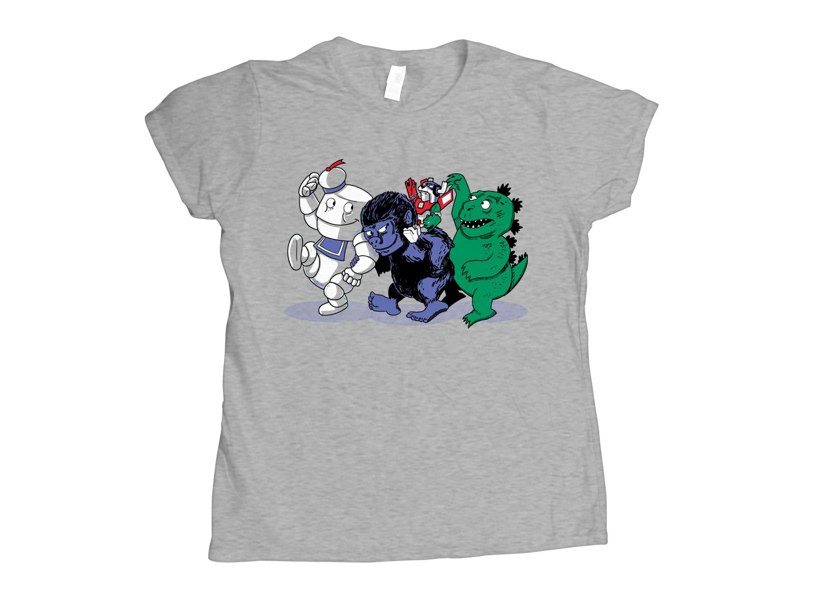 Where The Monsters Are on Womens T-Shirt