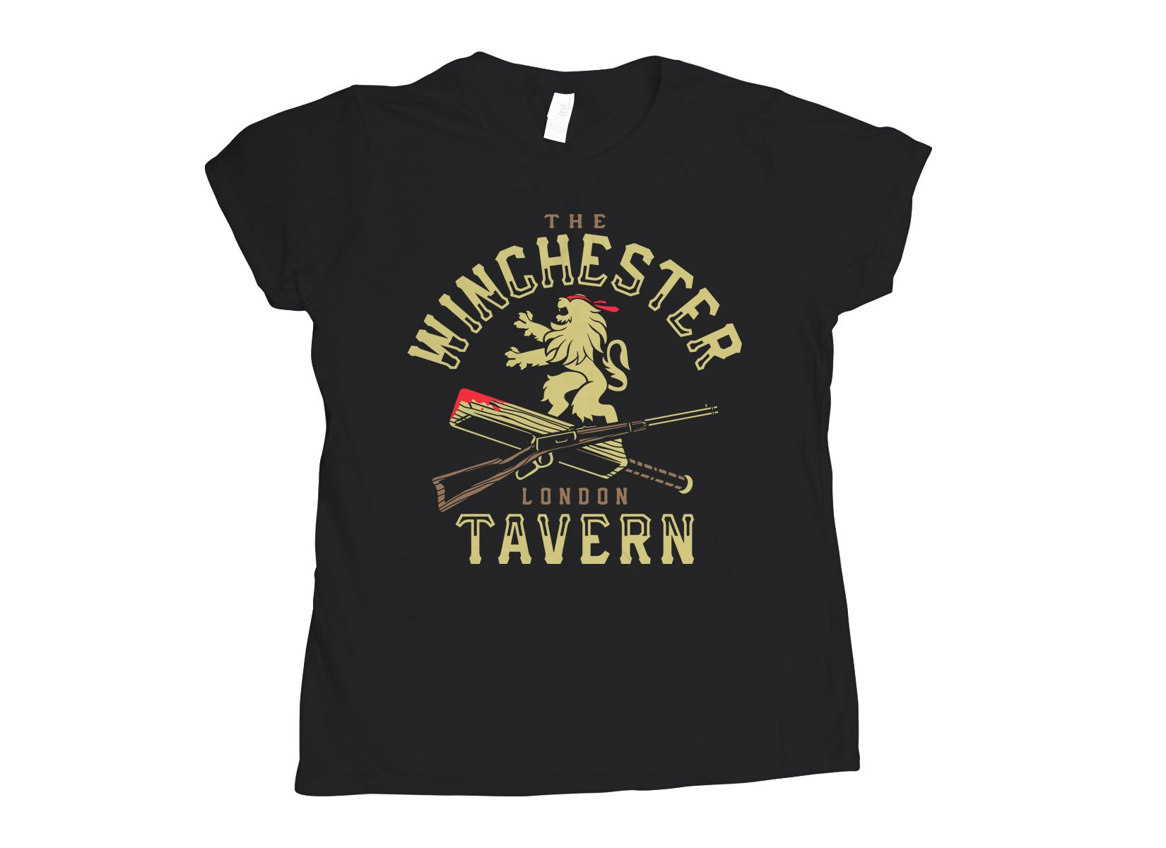 The Winchester Tavern on Womens T-Shirt