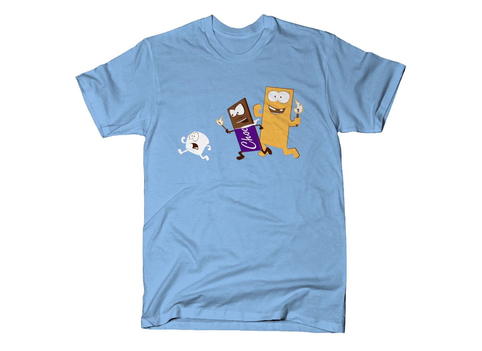 S'more on Mens T-Shirt