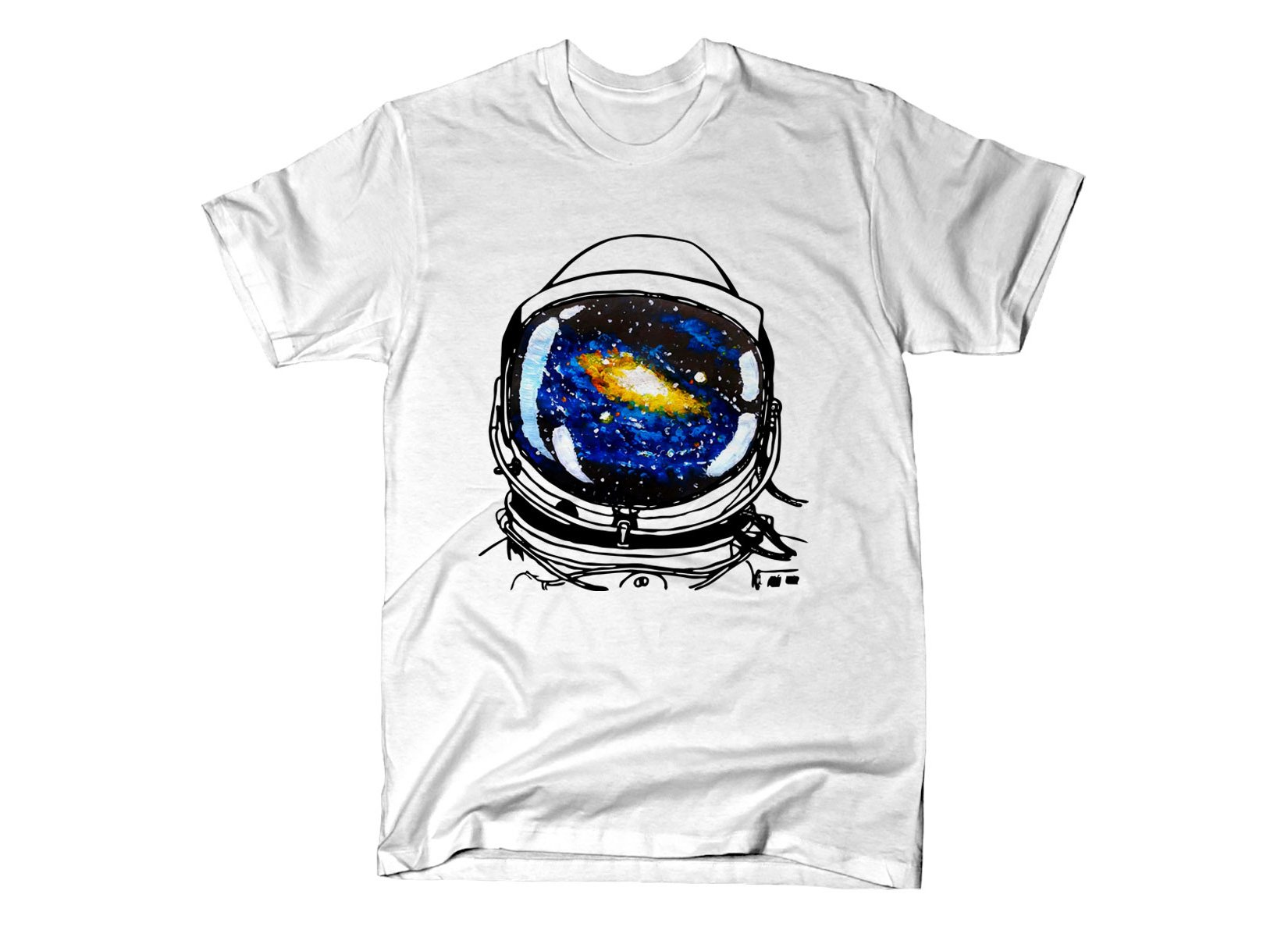 Space Sight on Mens T-Shirt