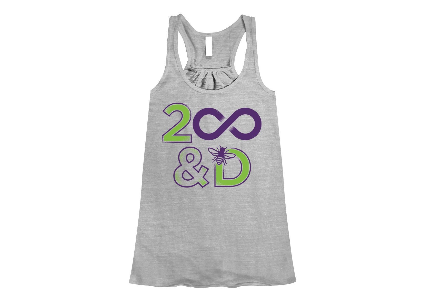 2 Infinity And B On D on Womens Tanks T-Shirt