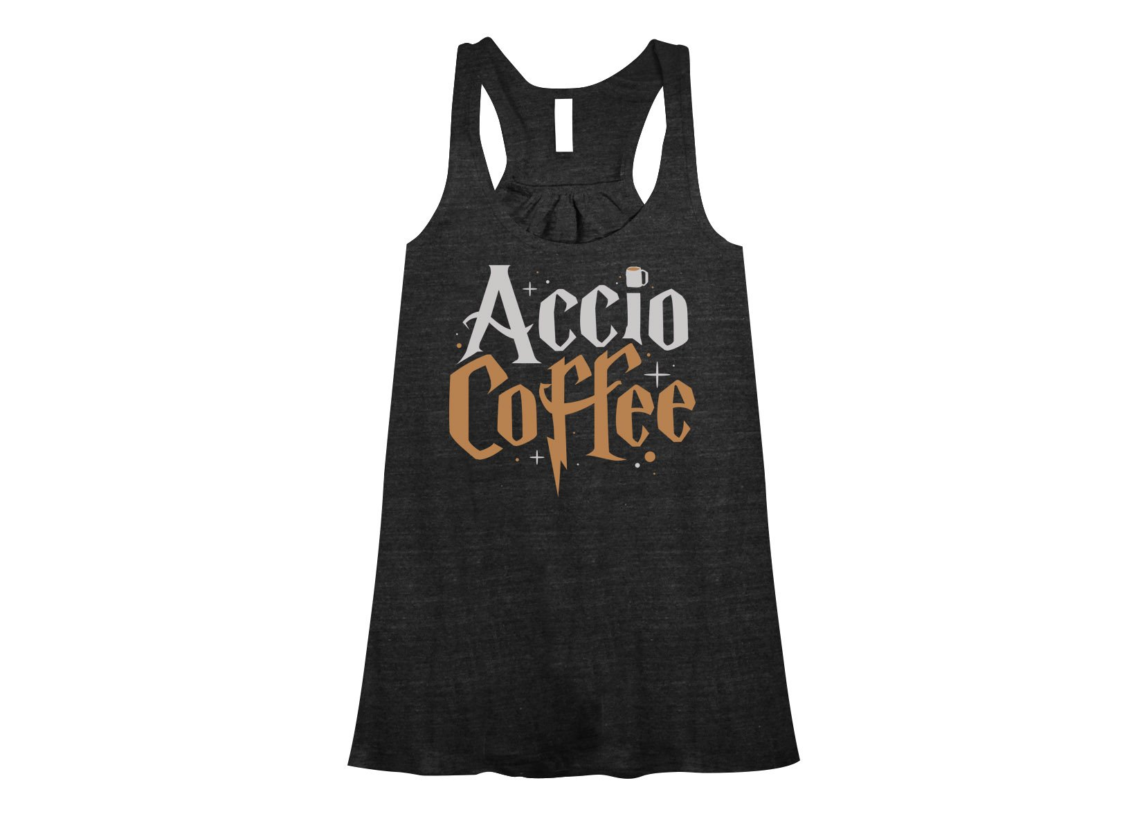 Accio Coffee on Womens Tanks T-Shirt