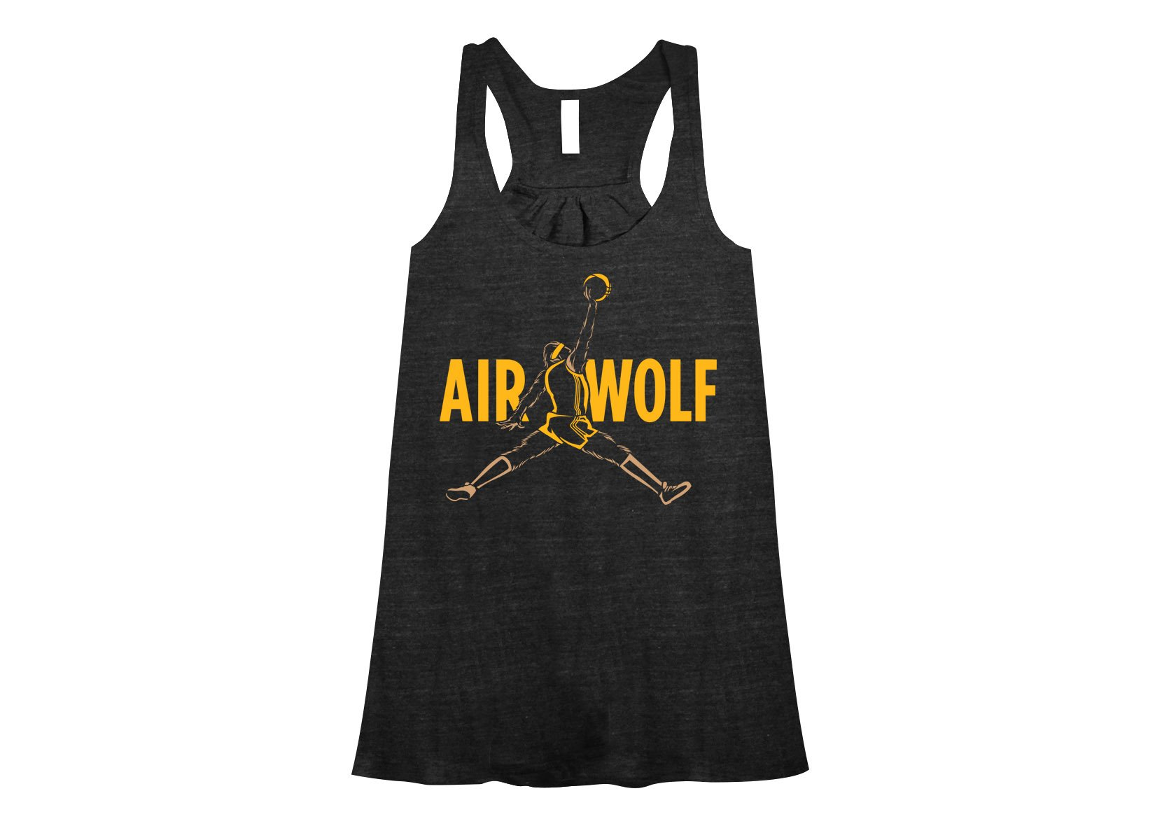 Air Wolf on Womens Tanks T-Shirt