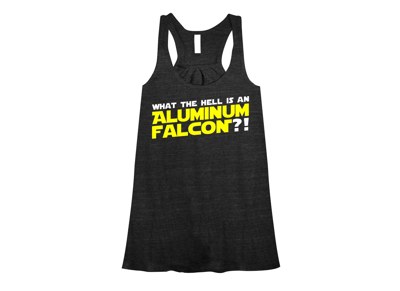 Aluminum Falcon on Womens Tanks T-Shirt