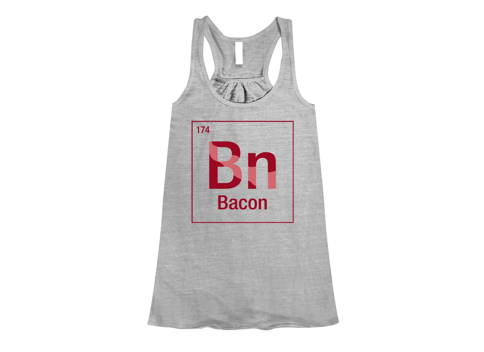 Bacon Element on Womens Tanks T-Shirt
