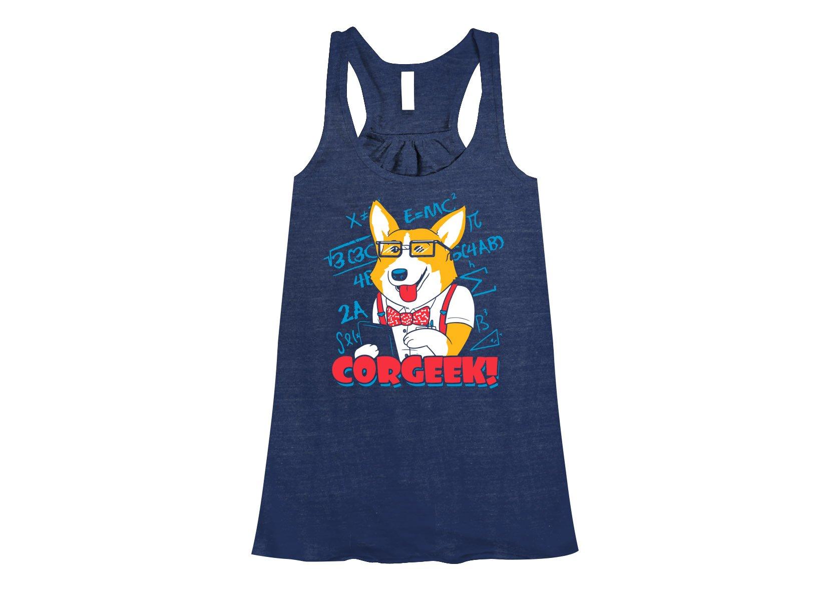 Corgeek on Womens Tanks T-Shirt