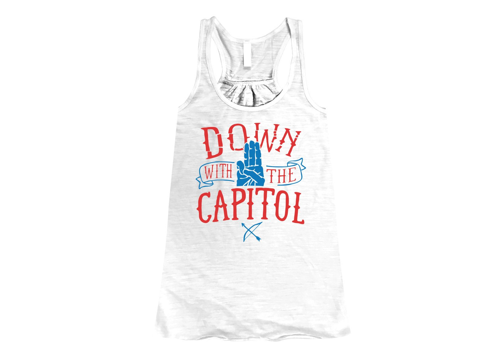Down With The Capitol on Womens Tanks T-Shirt