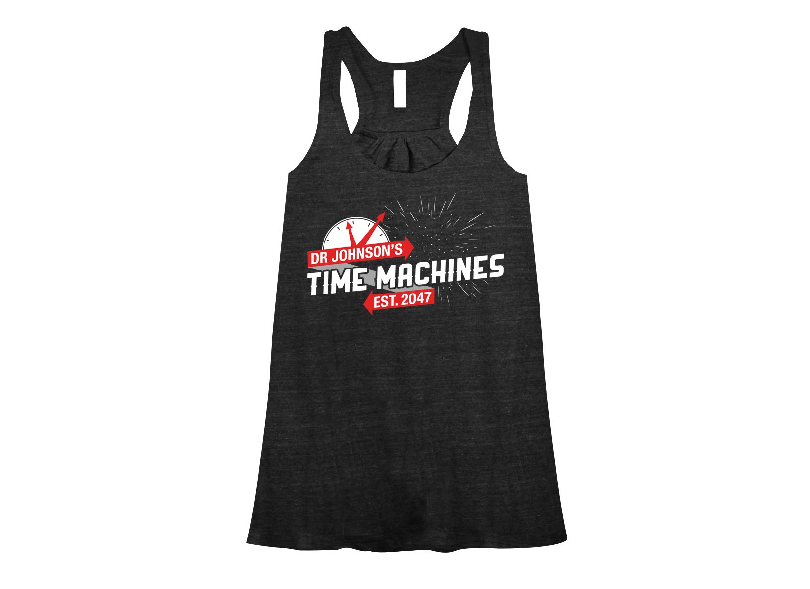 Dr Johnson's Time Machines on Womens Tanks T-Shirt