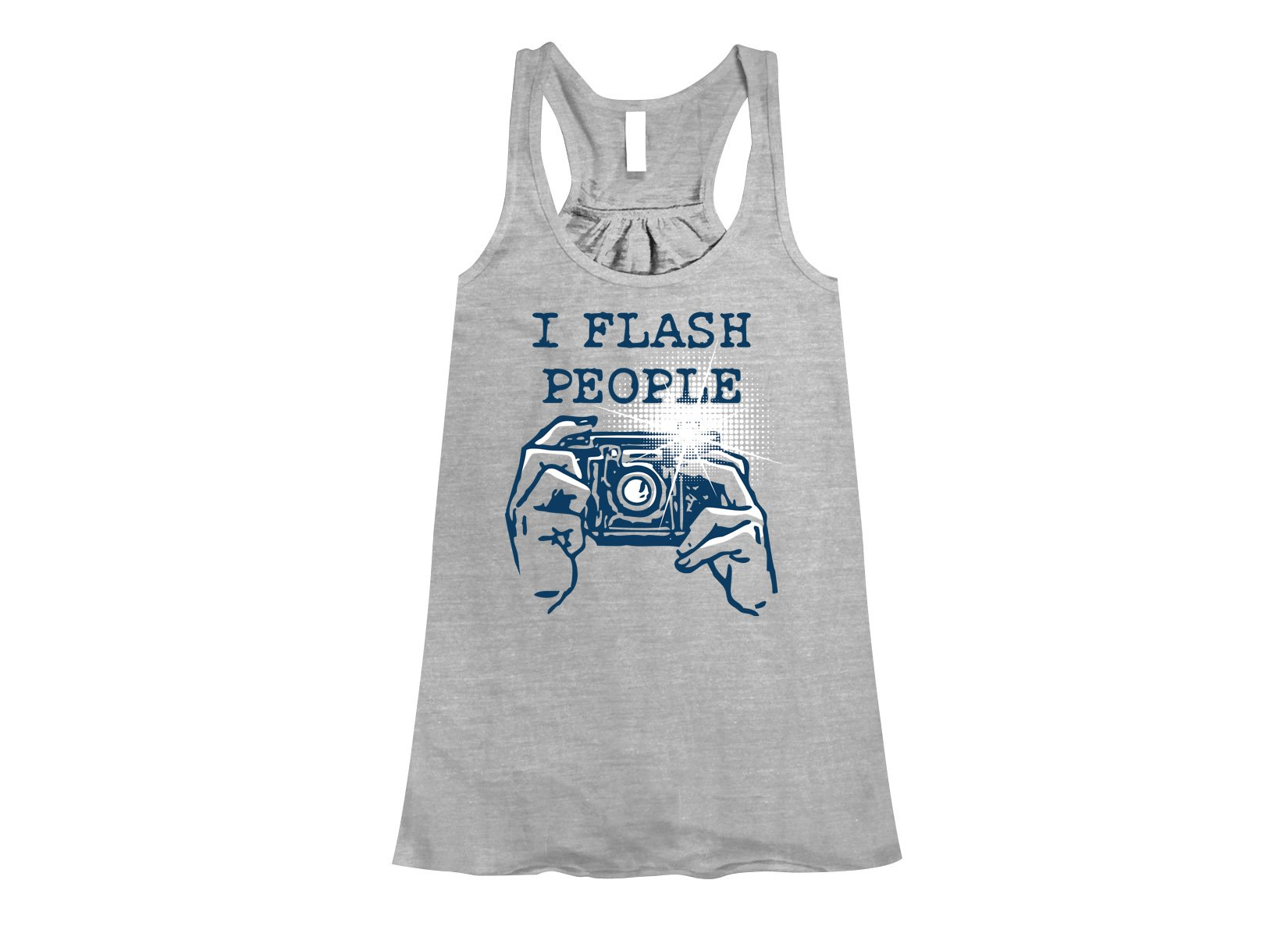 I Flash People on Womens Tanks T-Shirt
