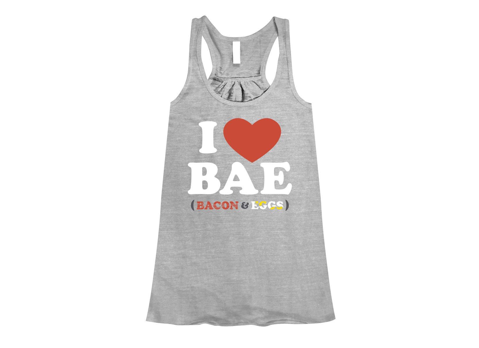 I Heart Bae on Womens Tanks T-Shirt