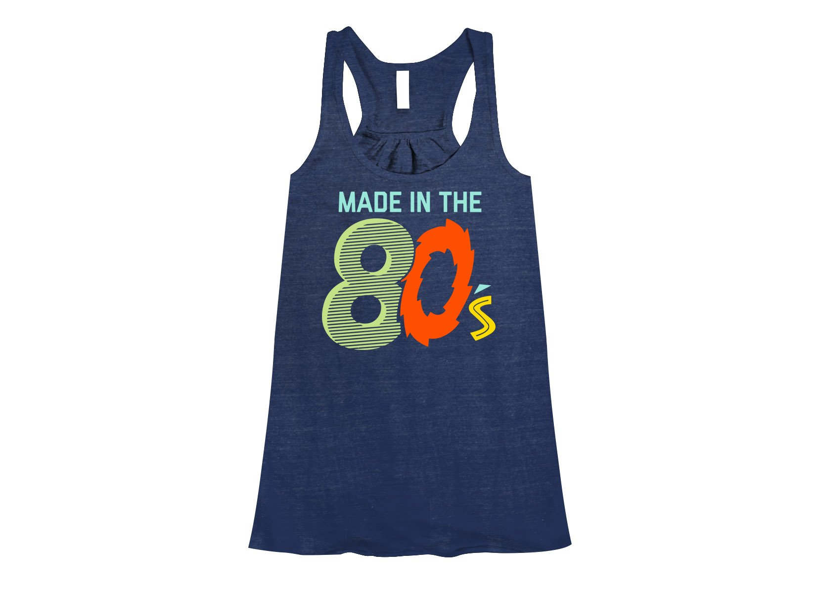 Made In The 80's on Womens Tanks T-Shirt