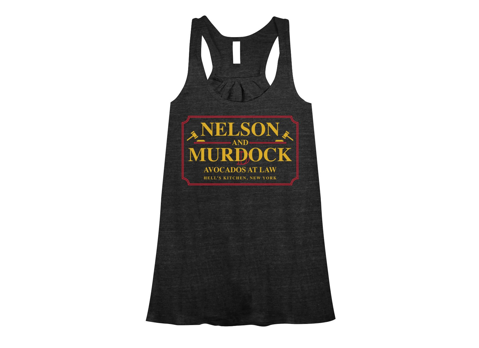 Nelson And Murdock on Womens Tanks T-Shirt