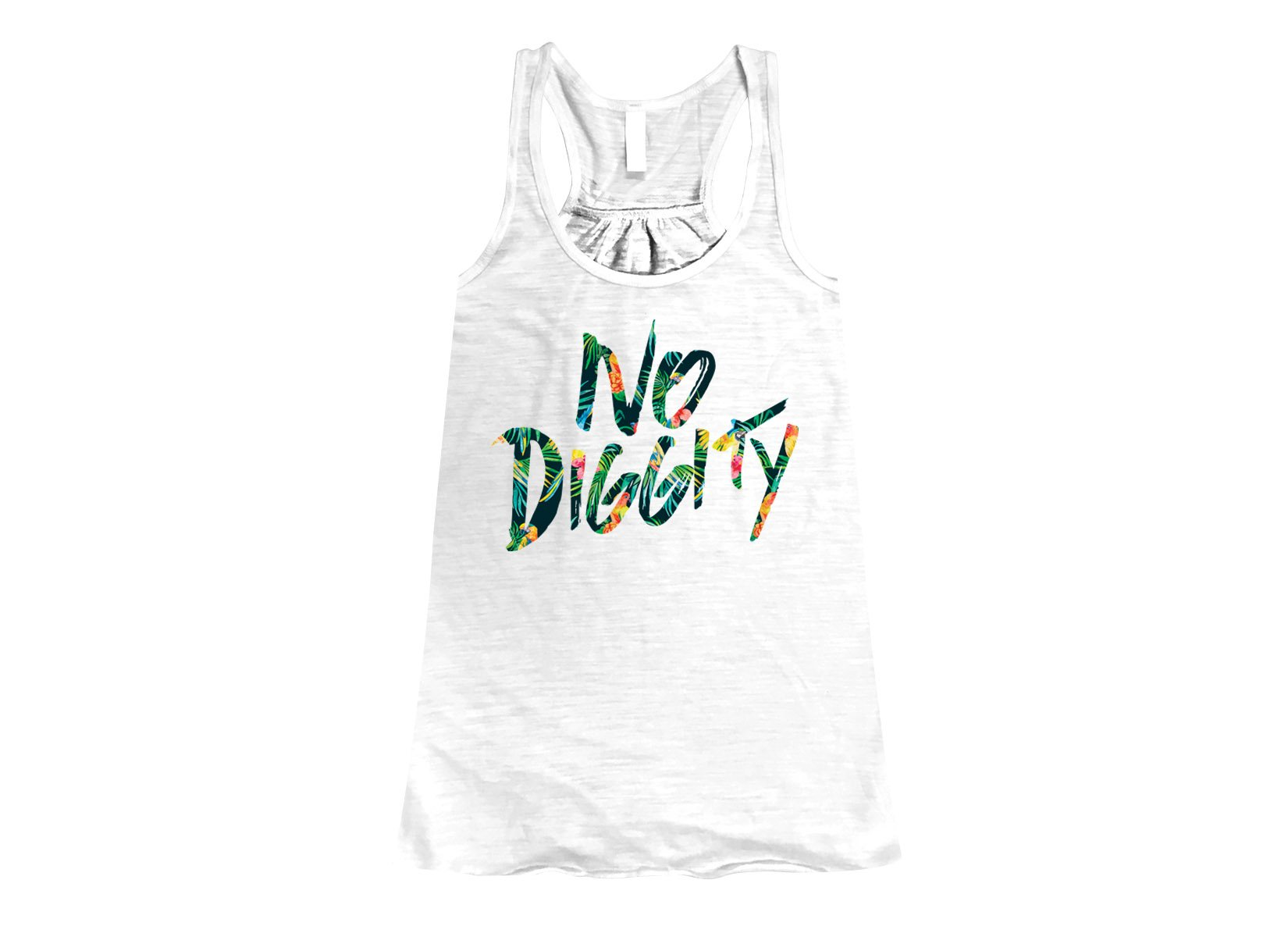 No Diggity on Womens Tanks T-Shirt