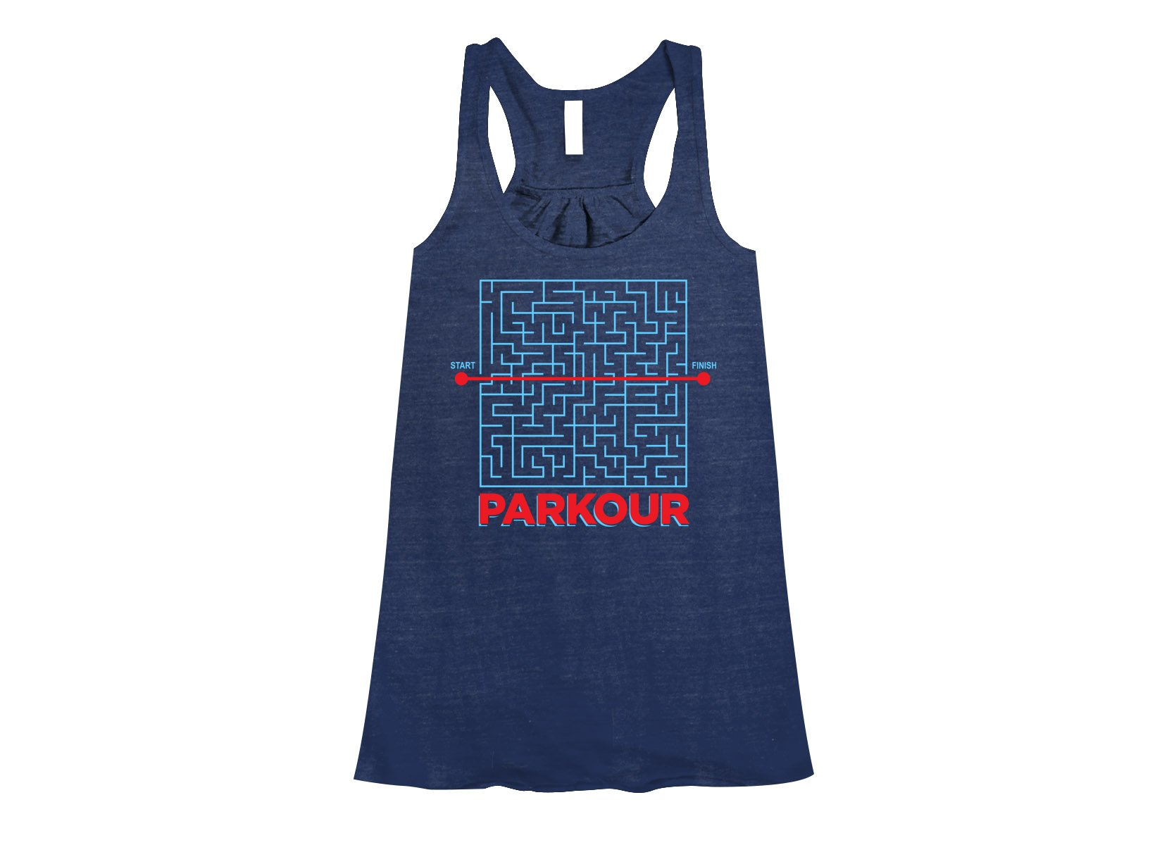 Parkour on Womens Tanks T-Shirt