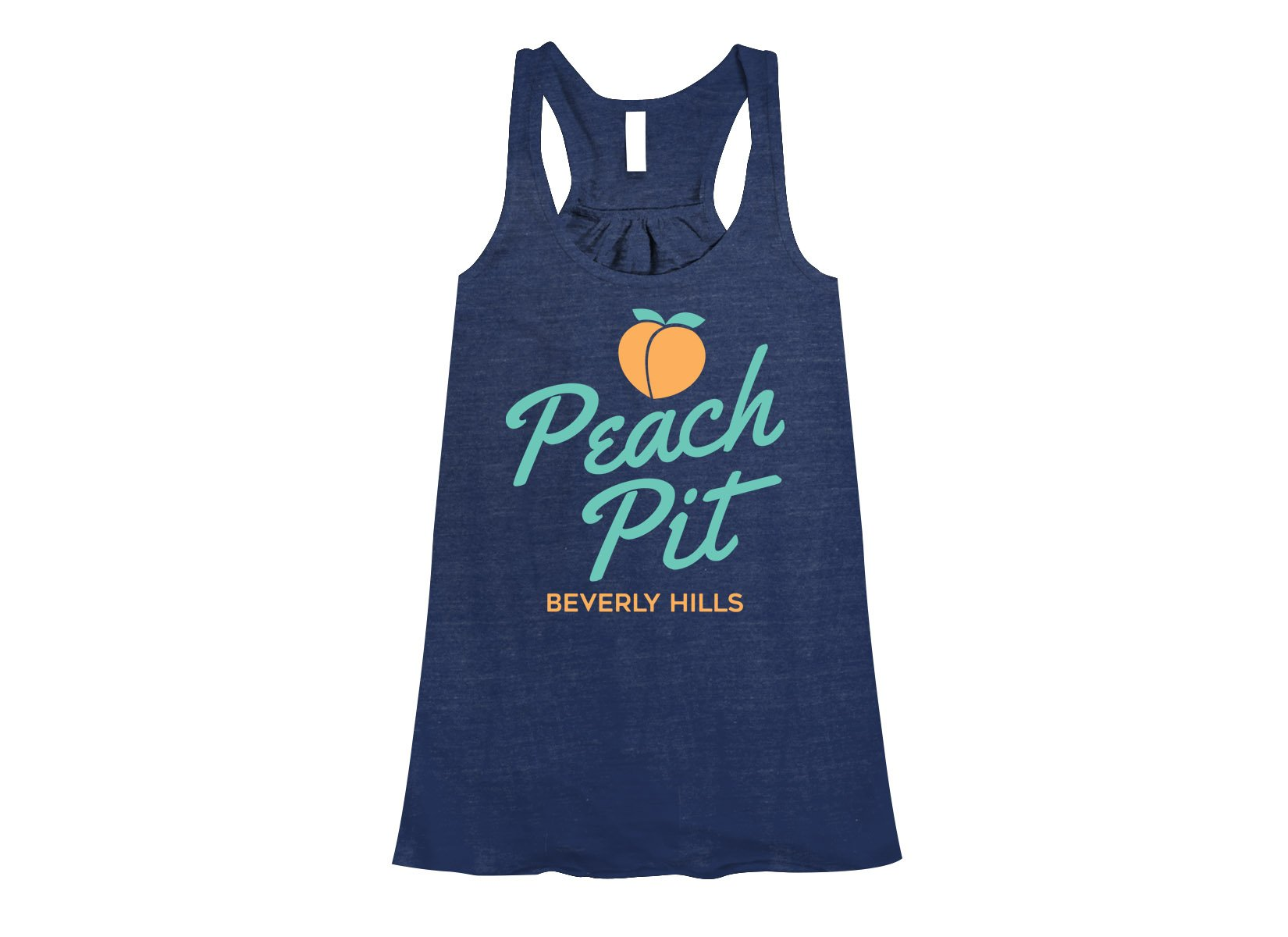 Peach Pit on Womens Tanks T-Shirt