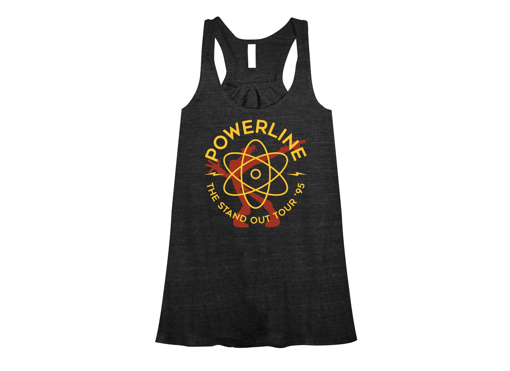 Powerline on Womens Tanks T-Shirt