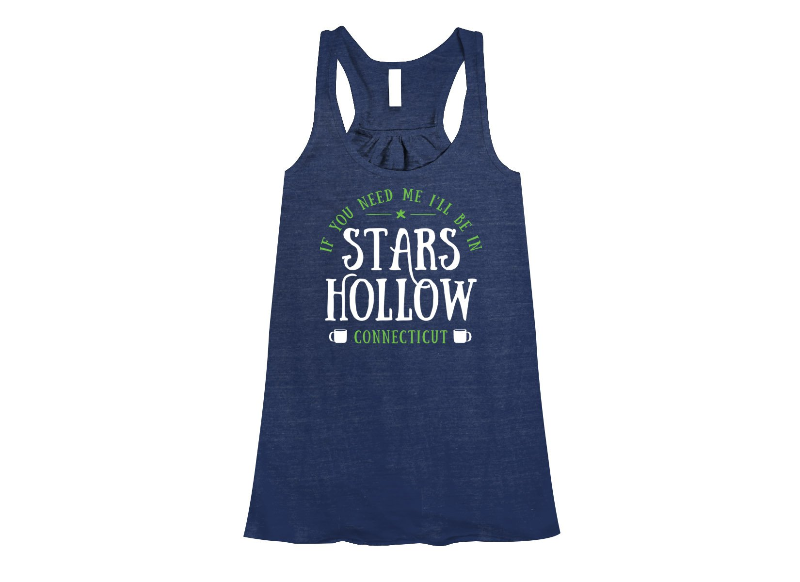 Stars Hollow on Womens Tanks T-Shirt