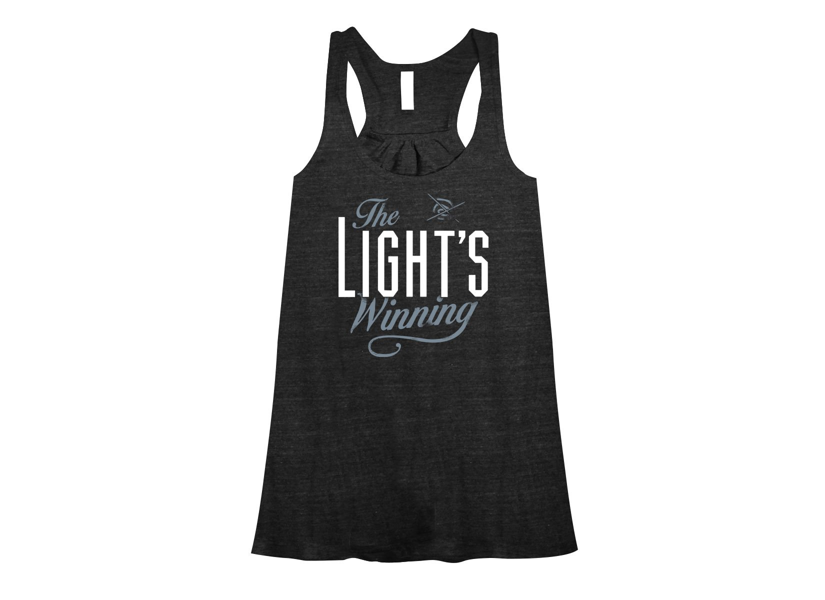 The Light's Winning on Womens Tanks T-Shirt
