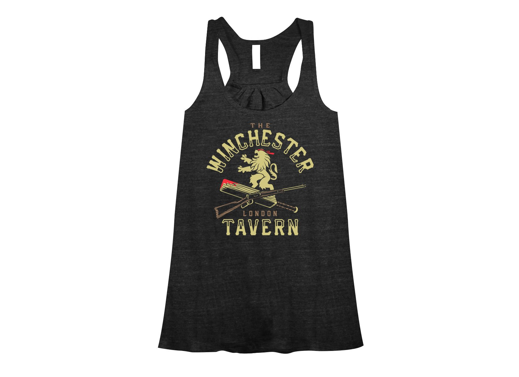 The Winchester Tavern on Womens Tanks T-Shirt