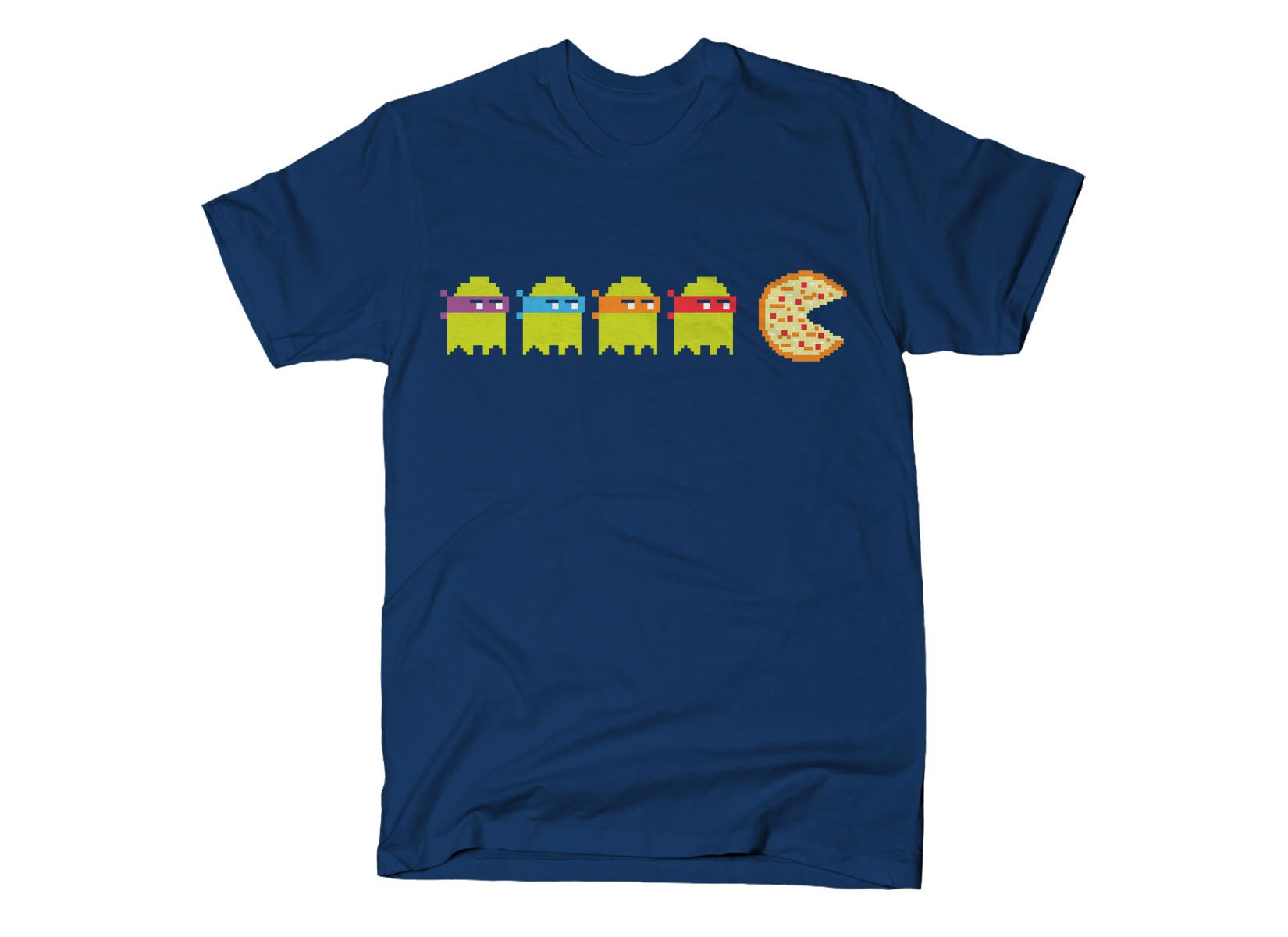 Teenage Mutant Ninja Ghosts on Mens T-Shirt