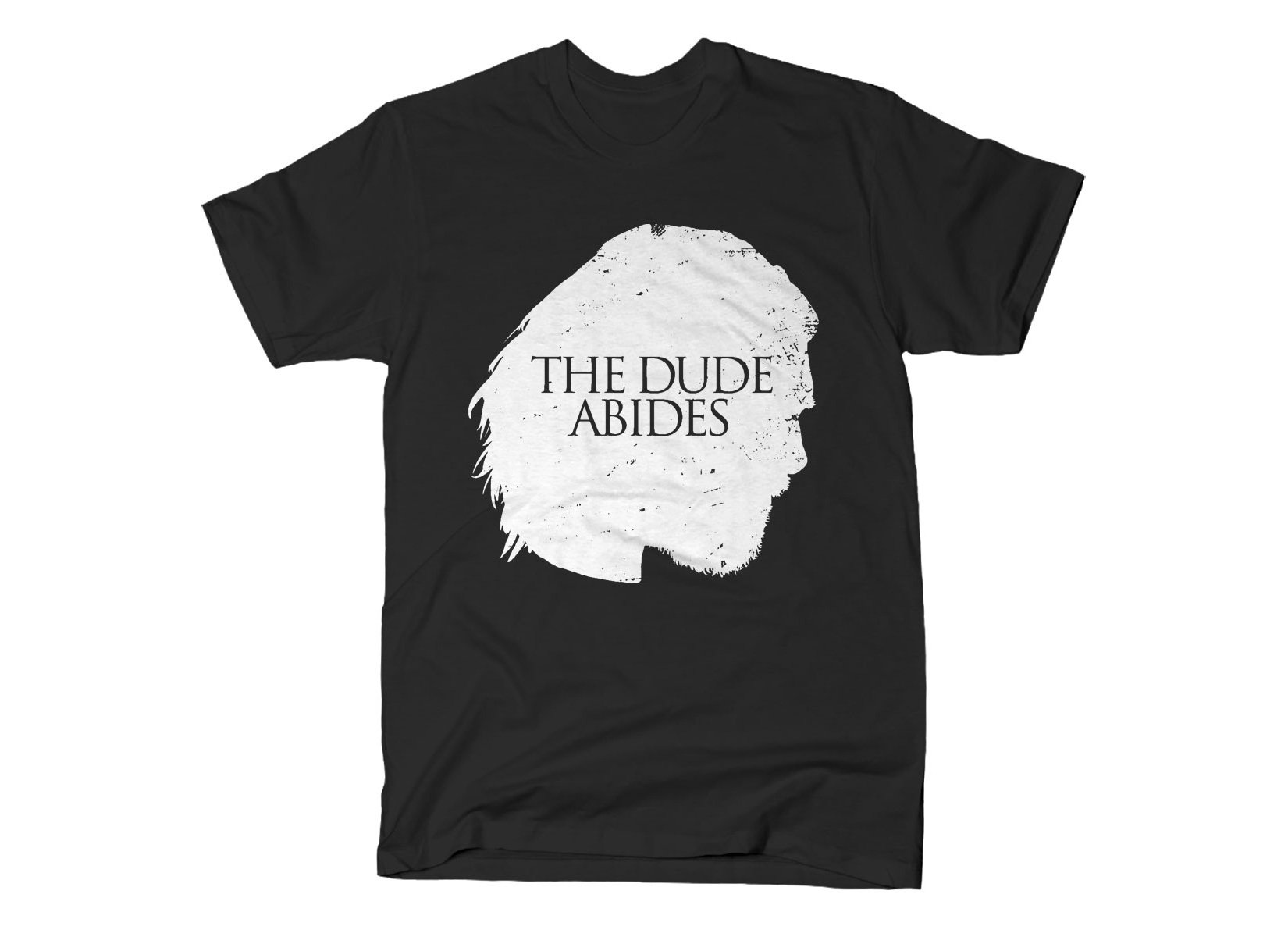 The Dude Abides on Mens T-Shirt