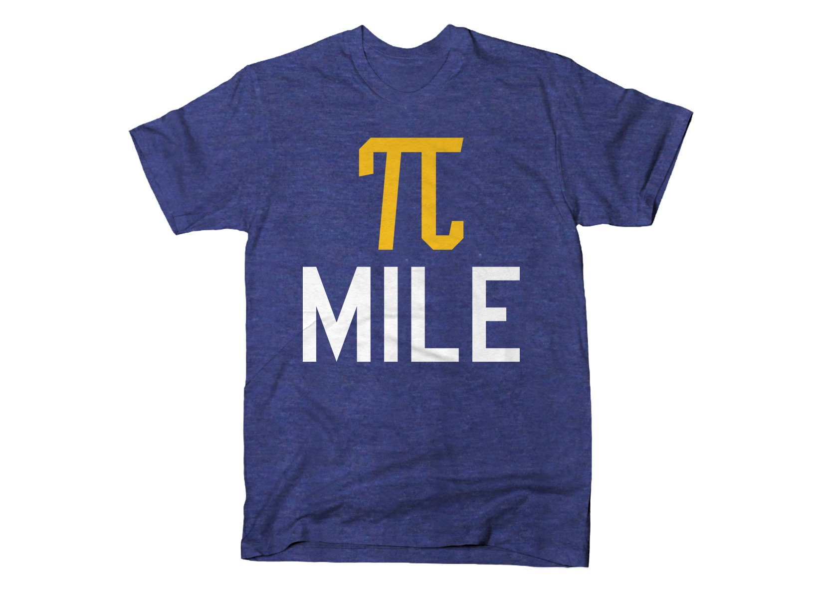 The Pi Mile on Mens T-Shirt