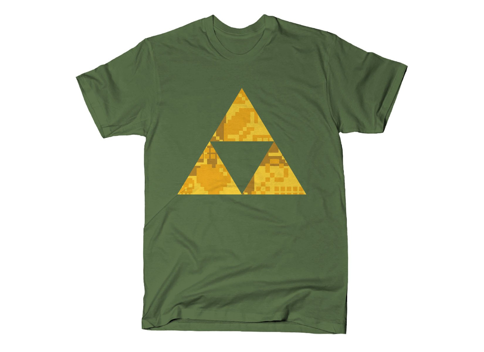 Triforce on Mens T-Shirt