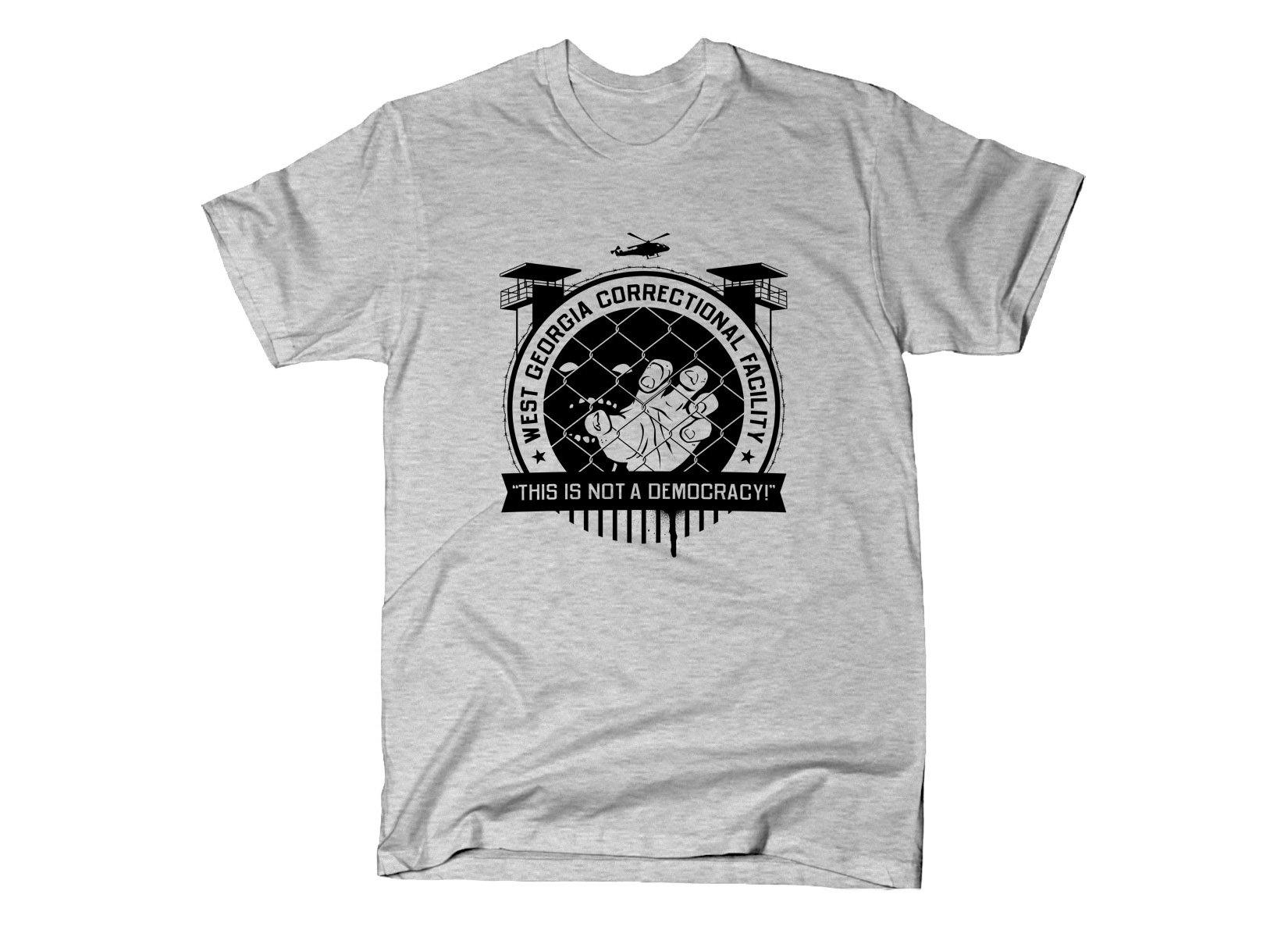 West Georgia Correctional Facility on Mens T-Shirt