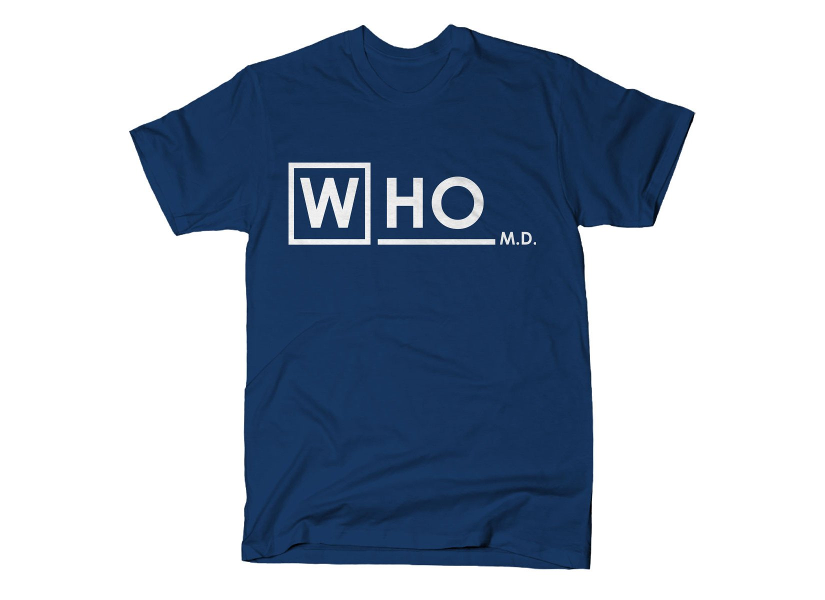 Who MD on Mens T-Shirt