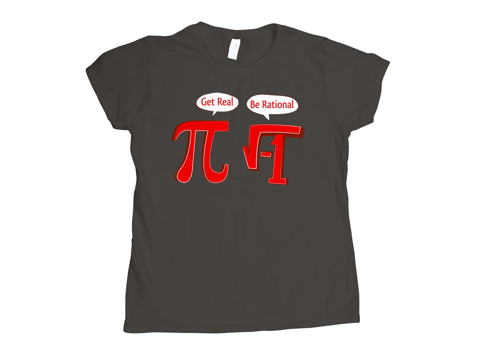 Pi Be Rational on Womens T-Shirt