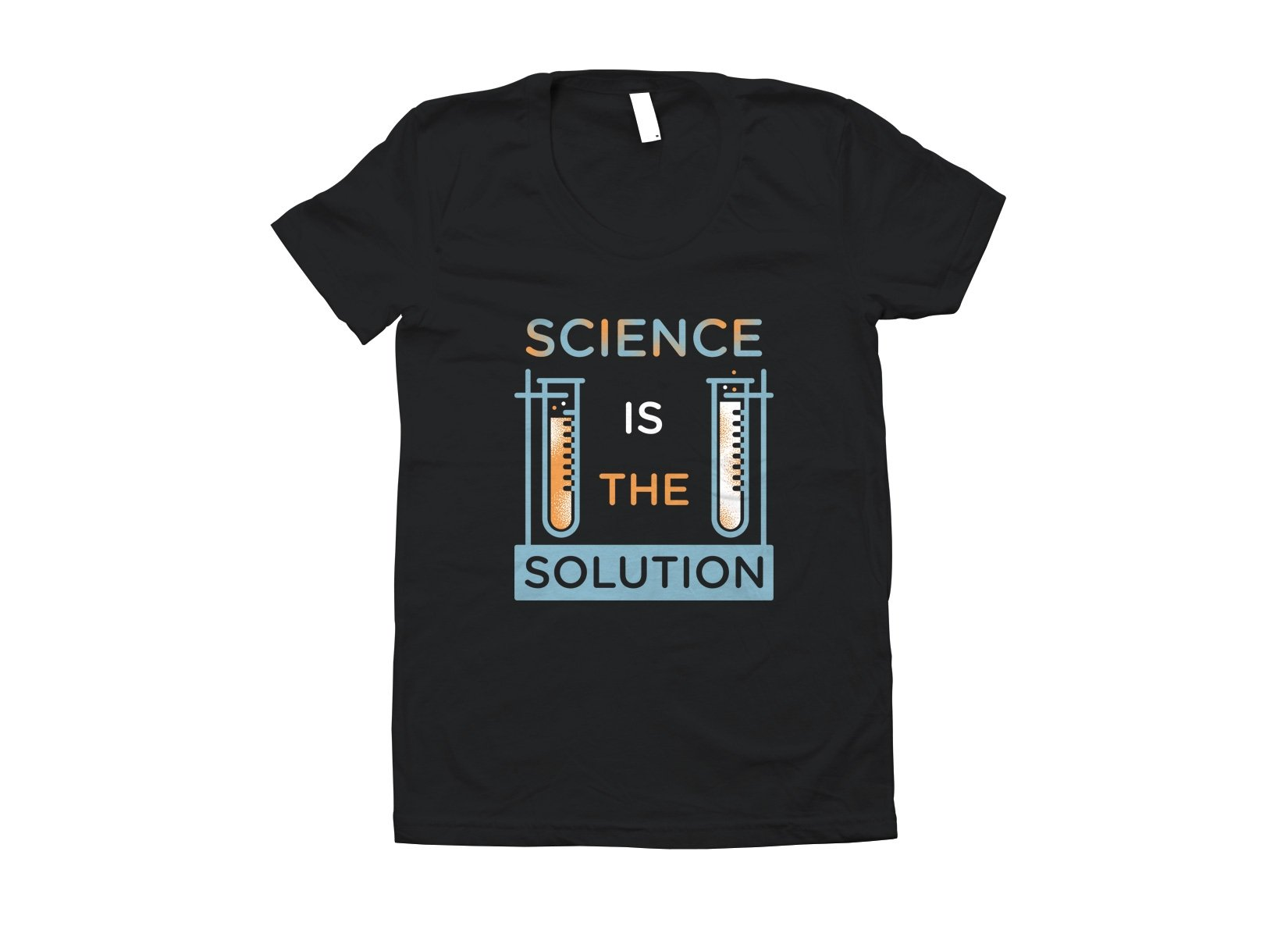 Science Is The Solution on Juniors T-Shirt
