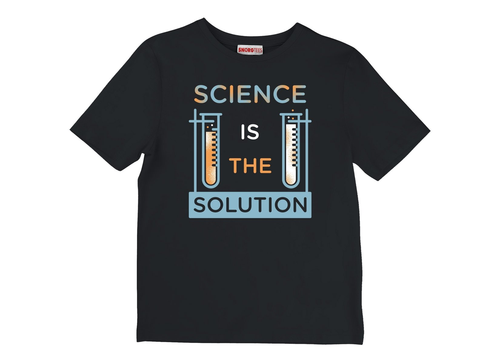 Science Is The Solution on Kids T-Shirt