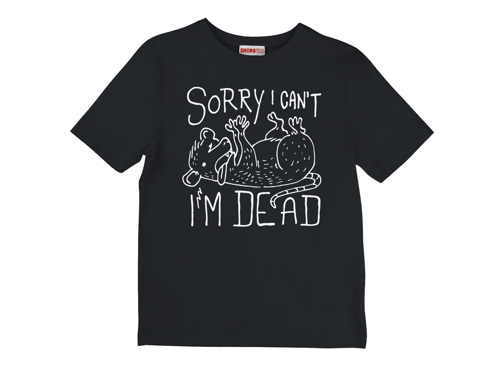 Sorry I Can't I'm Dead on Kids T-Shirt