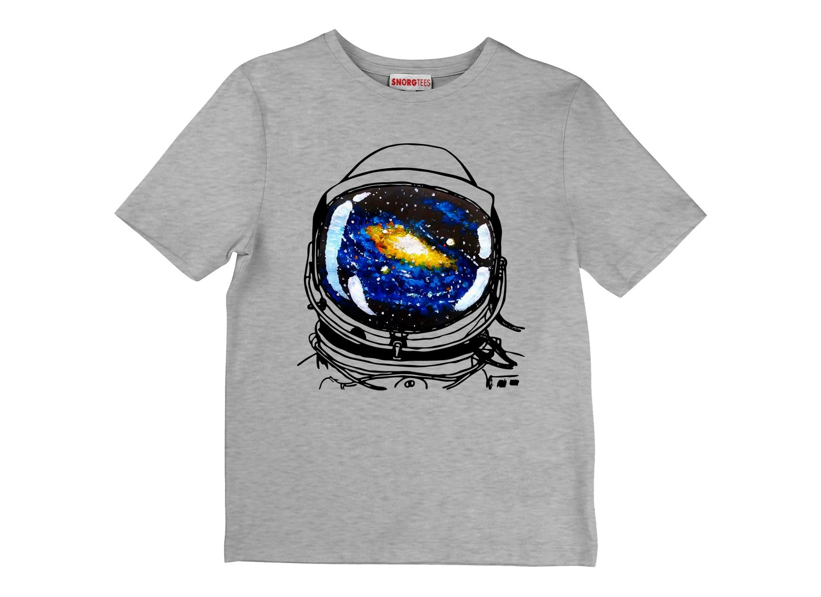 Space Sight on Kids T-Shirt