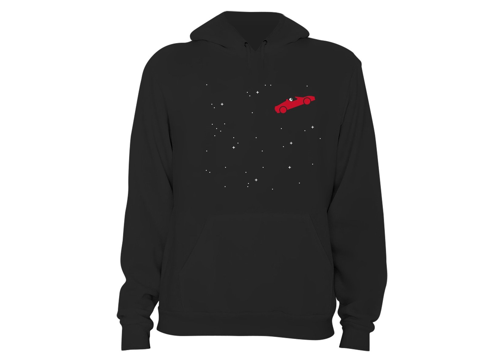 Space Road on Hoodie