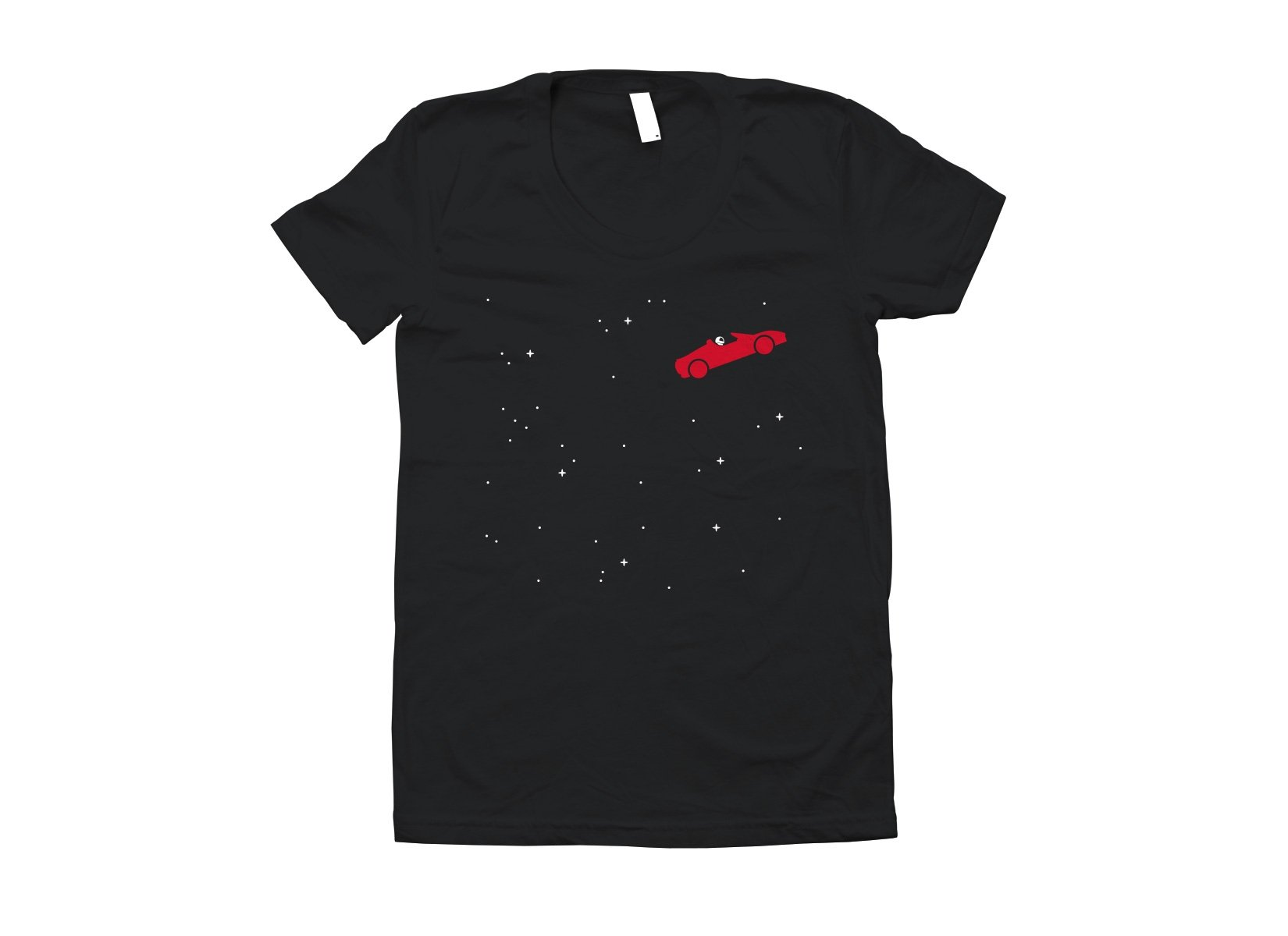 Space Road on Juniors T-Shirt