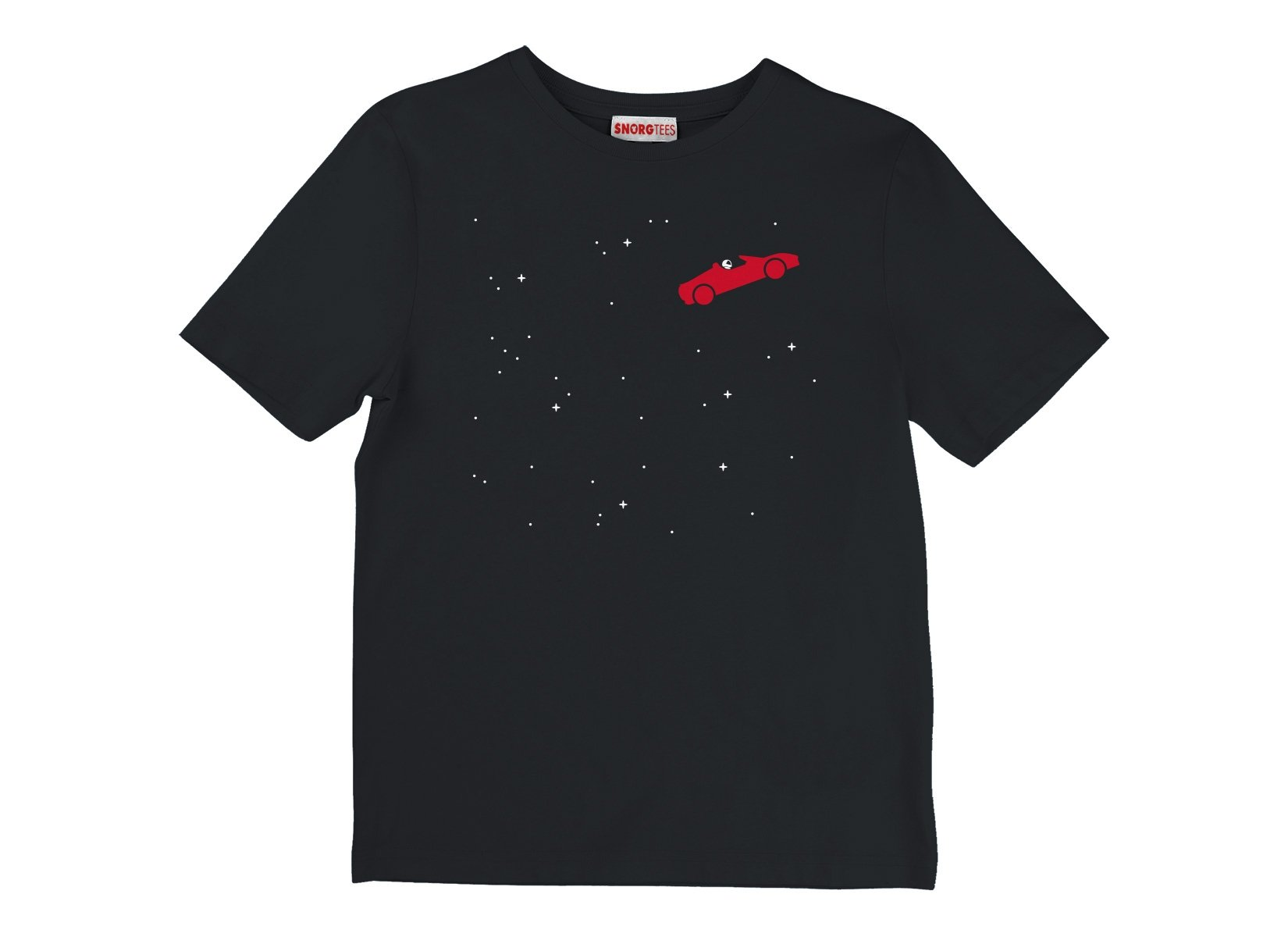 Space Road on Kids T-Shirt
