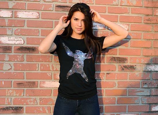 Sloth Nebula on Juniors T-Shirt
