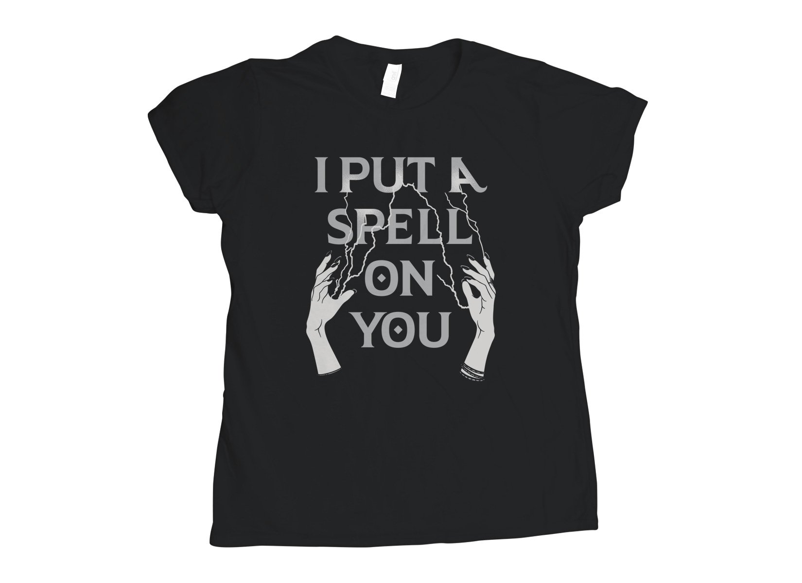 I Put A Spell On You on Womens T-Shirt