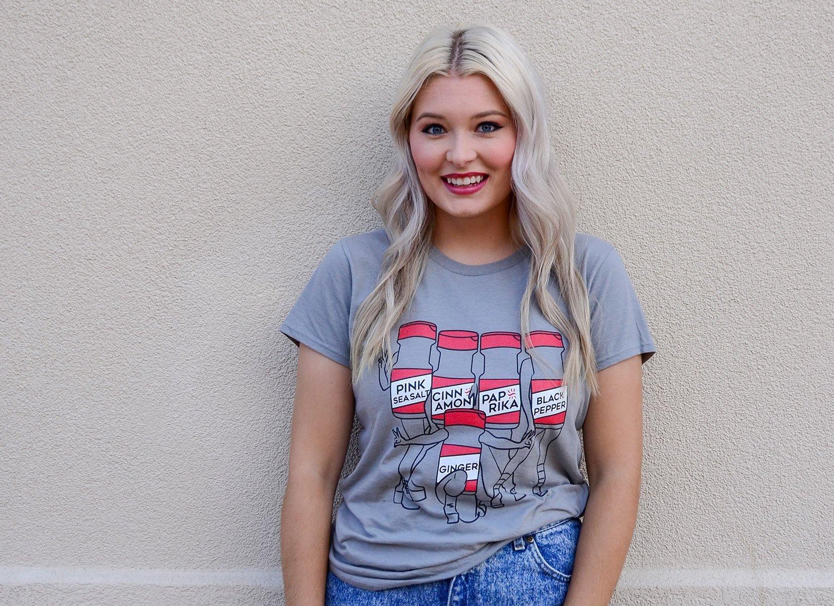 Spice Girls on Womens T-Shirt